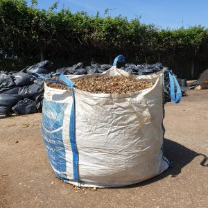 900ltr Bulk Bag Bark Mulch